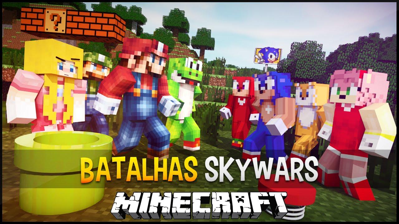Minecraft Spielen Deutsch Minecraft Sonic Spiele Bild - Minecraft mario spiele