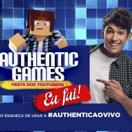 cartão show FESTA DOS YOTUBERS FRENTE