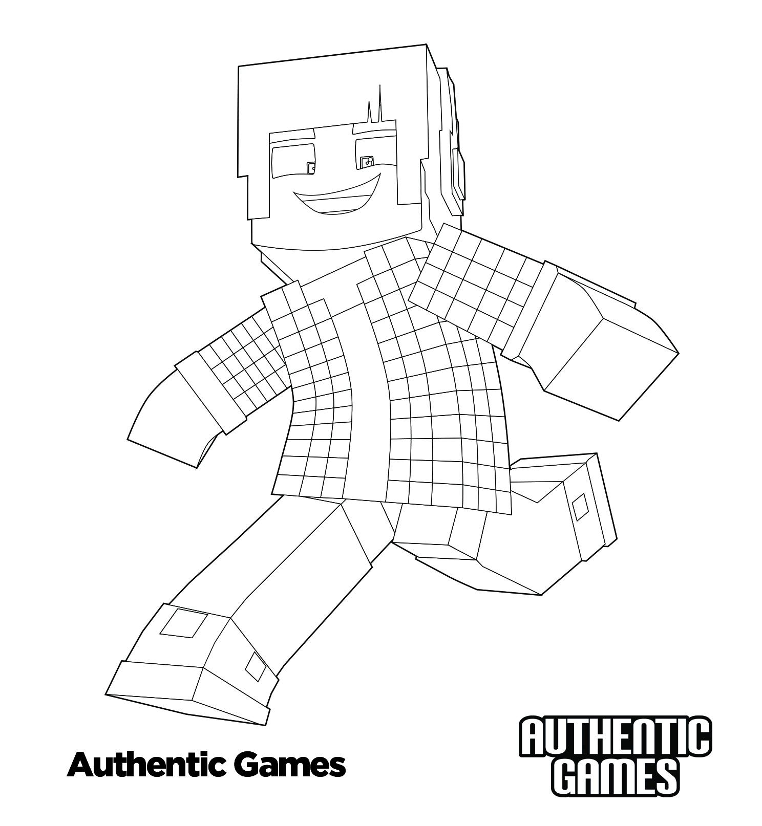 Authentic Ii Para Colorir Authenticgames